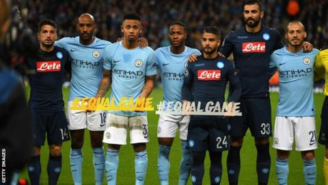 Manchester City And Napoli In Champions League Belt Ban
