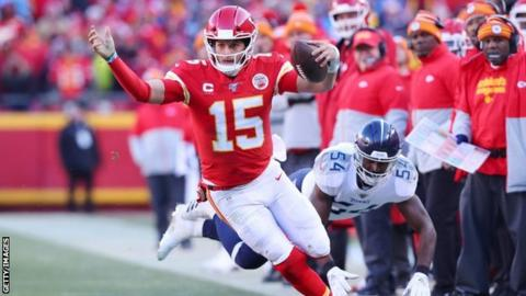 Super Bowl 2020: Kansas City Chiefs beat Tennessee Titans 35-24 in AFC Championship game
