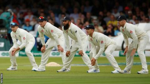 England's Test players