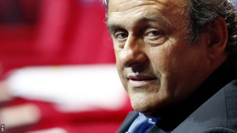 Platini had been Uefa president since January 2007