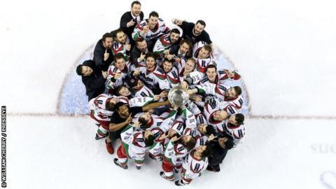 Devils celebrate