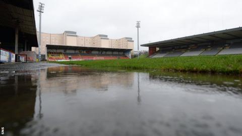Partick Thistle's Firhill Stadium