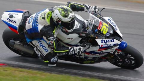 Christian Iddon has been competing for the Tyco BMW team in British Superbikes