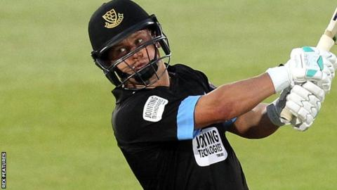 Craig Cachopa in action for Sussex