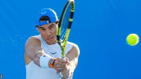 Nadal pulls out of Brisbane International with thigh problem