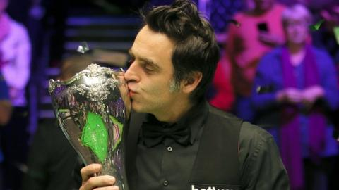 Ronnie O'Sullivan won five frames in a row to secure a 10-5 victory