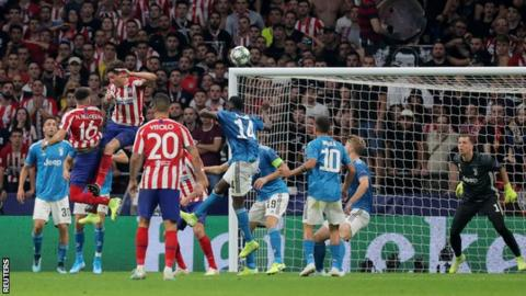 Atletico Madrid were Champions League runners-up in 2013-4 and 2015-16