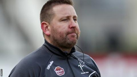 Kildare manager manager Cian O'Neill