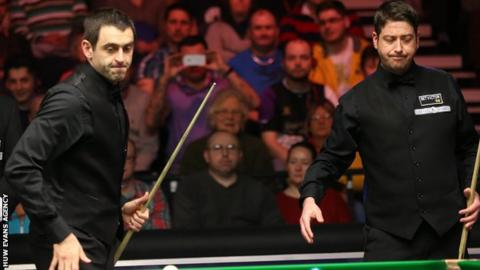 Ronnie O'Sullivan (left) has criticised Cardiff as a venue in the past. Matthew Stevens (right) is tipping a Welsh winner for the first time since 1999