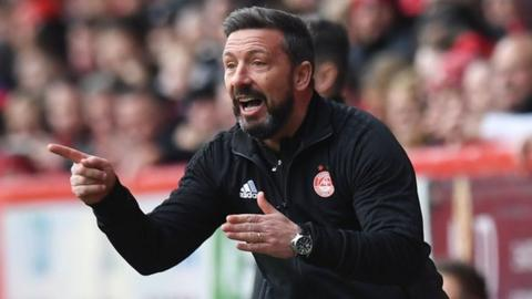 Aberdeen want compensation from Rangers before Derek McInnes talks