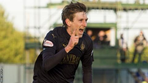 Blair Alston scored 12 goals for Falkirk last season
