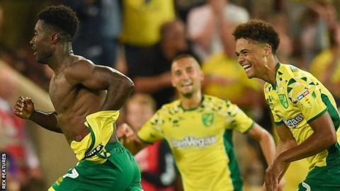 Watch highlights of Norwich City's 2-0 victory over Preston