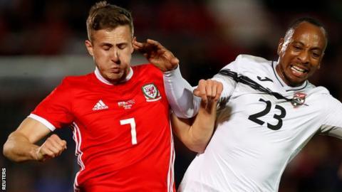 Wales 1-0 Trinidad and Tobago: Ben Woodburn scores injury-time winner
