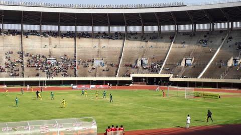 The National Sports Stadium in Harare
