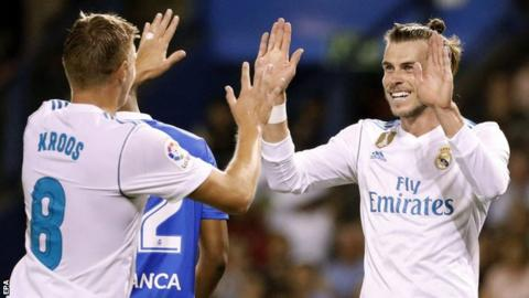 Gareth Bale and Toni Kroos