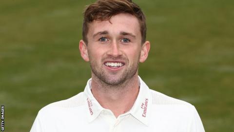 Durham batsman Cameron Steel