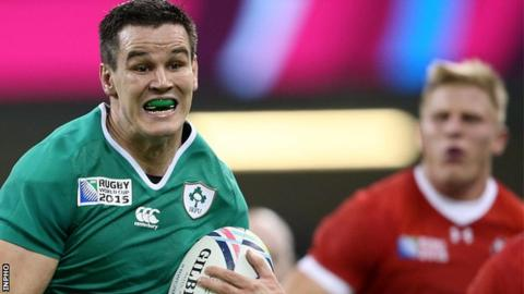 Jonathan Sexton could be rested for Ireland's match against Romania