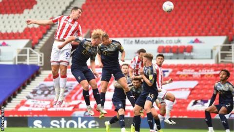 Sam Vokes scores for Stoke City