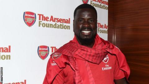 Former Arsenal and Ivory Coast defender Emmanuel Eboue