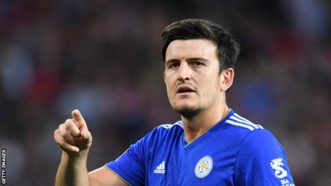 Harry Maguire: Leicester City defender signs new contract