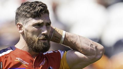 Jarrod Sammut kicked two goals in London Broncos' 4-2 win over Toronto Wolfpack in October's Million Pound Game