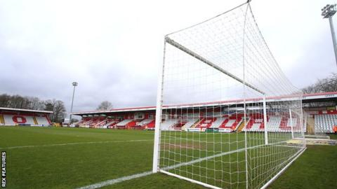 Stevenage's Lamex Stadium