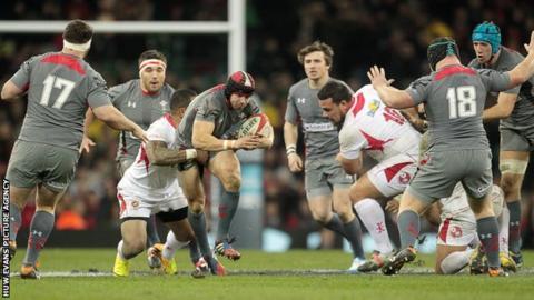 Wales v Tonga