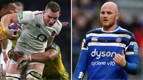 Underhill a Six Nations doubt as Bath await specialist review