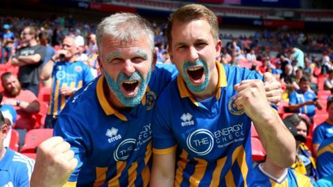 Shrewsbury fans