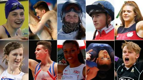 BBC Young Sports Personality of the Year Contenders