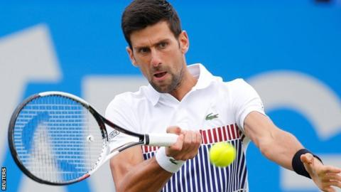Novak Djokovic reaches Eastbourne final