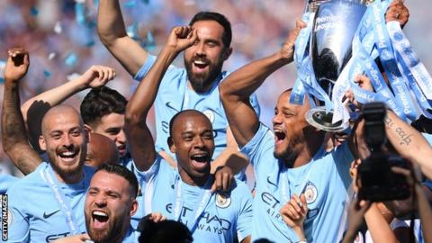 Manchester City defeats Brighton for Premier League title