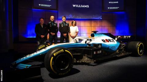 Williams F1 land Rokit title deal