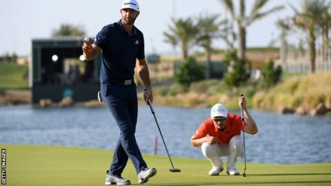Sergio Garcia disqualified from Saudi International for damaging two greens
