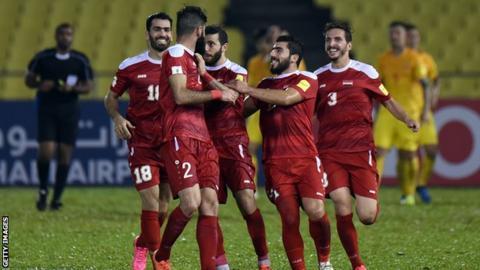 Syria football team