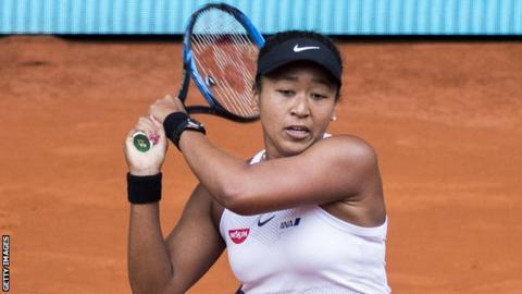Madrid Open: Naomi Osaka loses to Belinda Bencic; Simona Halep through