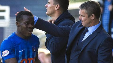 Souleymane Coulibaly and Lee Clark