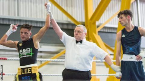 Lee McGregor gets the decision against Garry Monkhouse