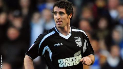 Mark Kennedy in action for Ipswich Town