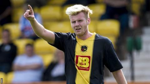 Edinburgh City striker Blair Henderson