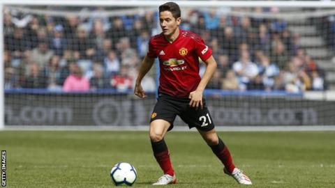 Former Manchester United midfielder Ander Herrera, who has joined Paris St-Germain