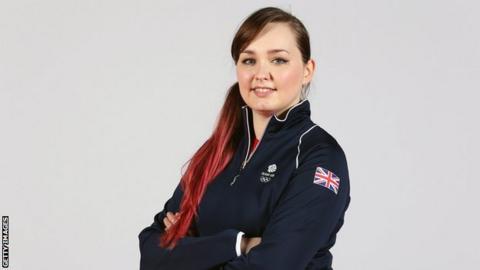 Scottish shooter Jen McIntosh