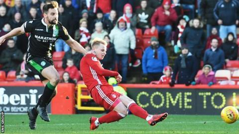 Gary Mackay-Steven shoots Aberdeen into a 2-0 lead
