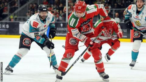 Cardiff Devils and Belfast Giants have won two games each against one another this season