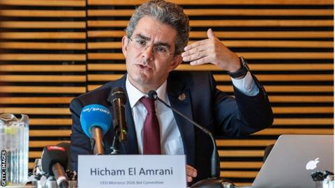 Hicham El Amrani head of Morocco's bid to host the 2026 World Cup