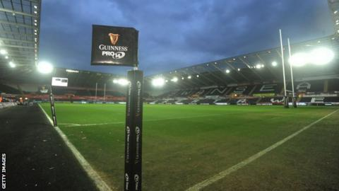 Project Reset: Scarlets-Ospreys merger 'off the table' - BBC Sport