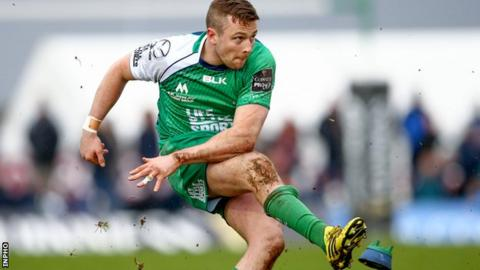 Connacht fly-half Jack Carty could be out of action for up to three months after having spleen removed