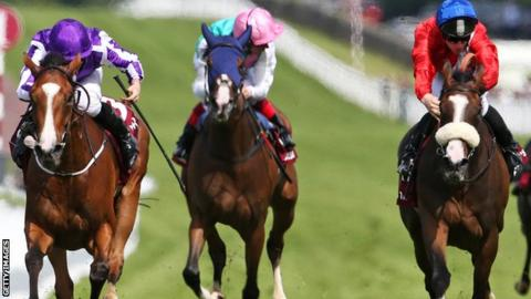 Minding wins the Nassua Stakes