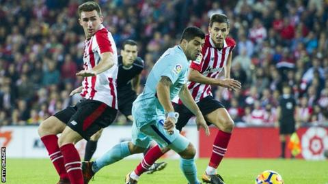 Athletic Bilbao defender Aymeric Laporte