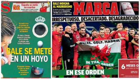 Spanish sport front pages Thursday 21 November 2019